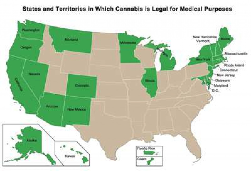 How Legal Is Marijuana? throughout Marijuana Laws By State Map
