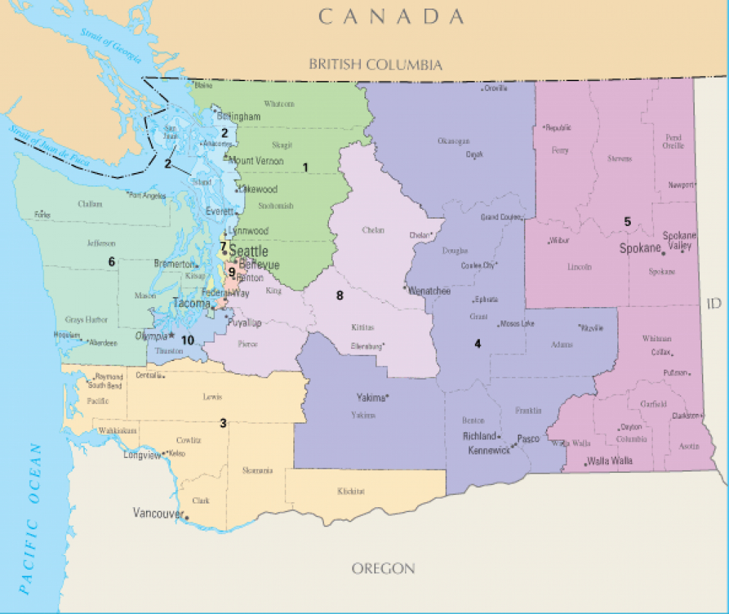 How The 2020 Census Could Alter State Politics | Crosscut within Washington State House Of Representatives District Map