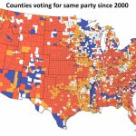 How The Red And Blue Map Evolved Over The Past Century   America Inside 1980 Presidential Election Results By State Map