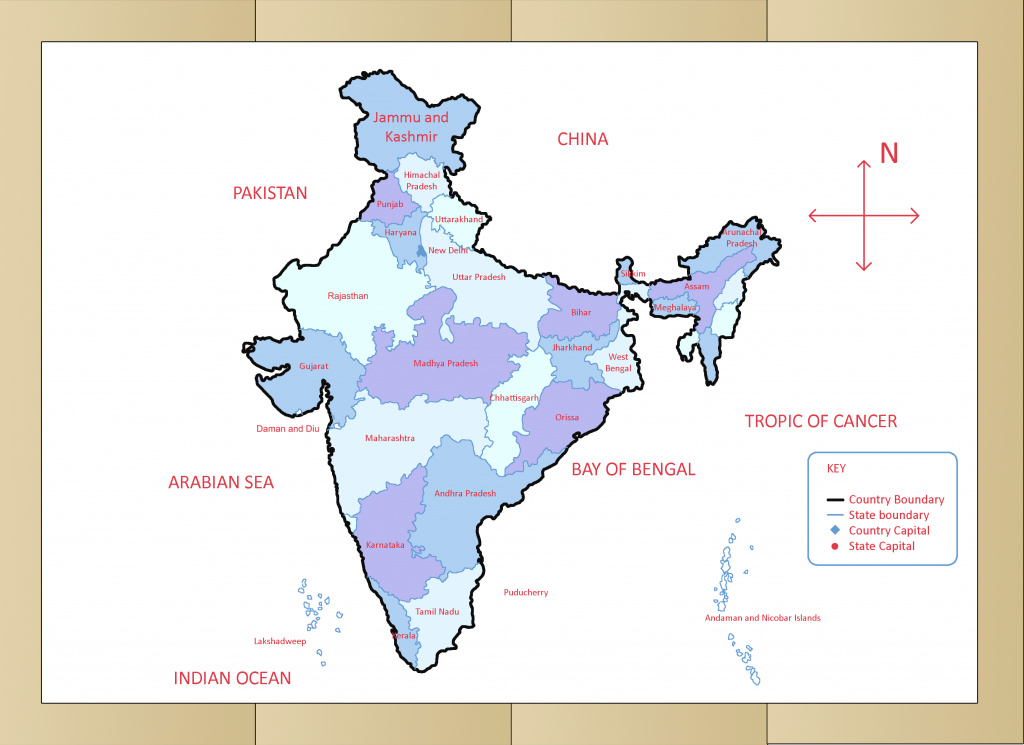How To Draw The Map Of India (With Pictures) - Wikihow inside Outline Map The States Choose Sides
