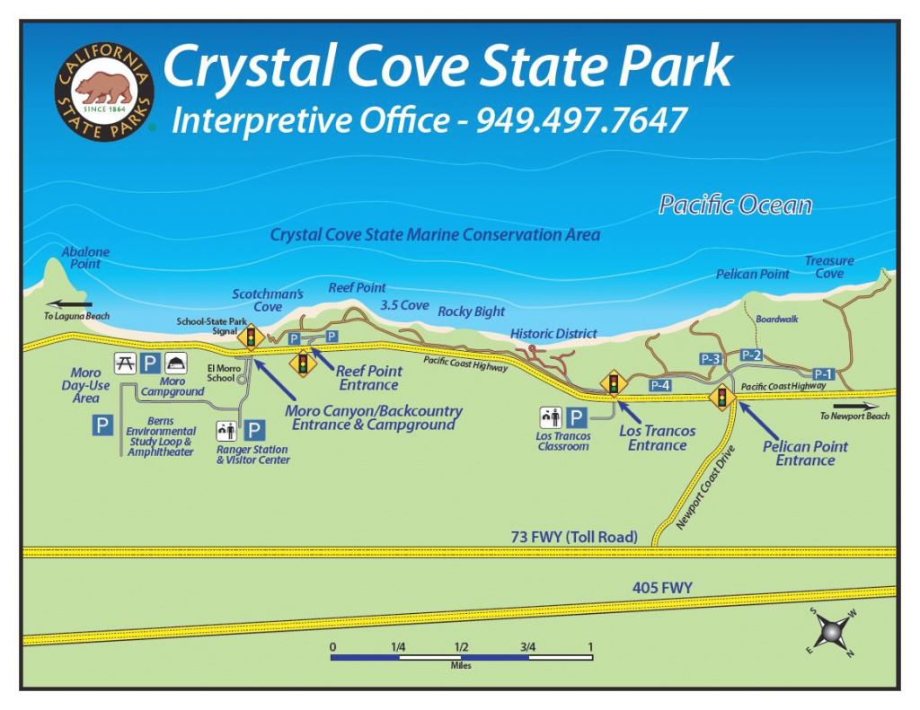How To Find The Park | Crystal Cove inside Crystal Cove State Park Map
