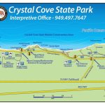 How To Find The Park | Crystal Cove Intended For Crystal Cove State Beach Map