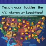 How To Teach Your Two Year Old All 50 States   Geography For Pertaining To How To Learn The 50 States On A Map