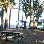 Hunting Island State Park Camping Campgrounds Rv Tent Camping Intended For Hunting Island State Park Campsite Map