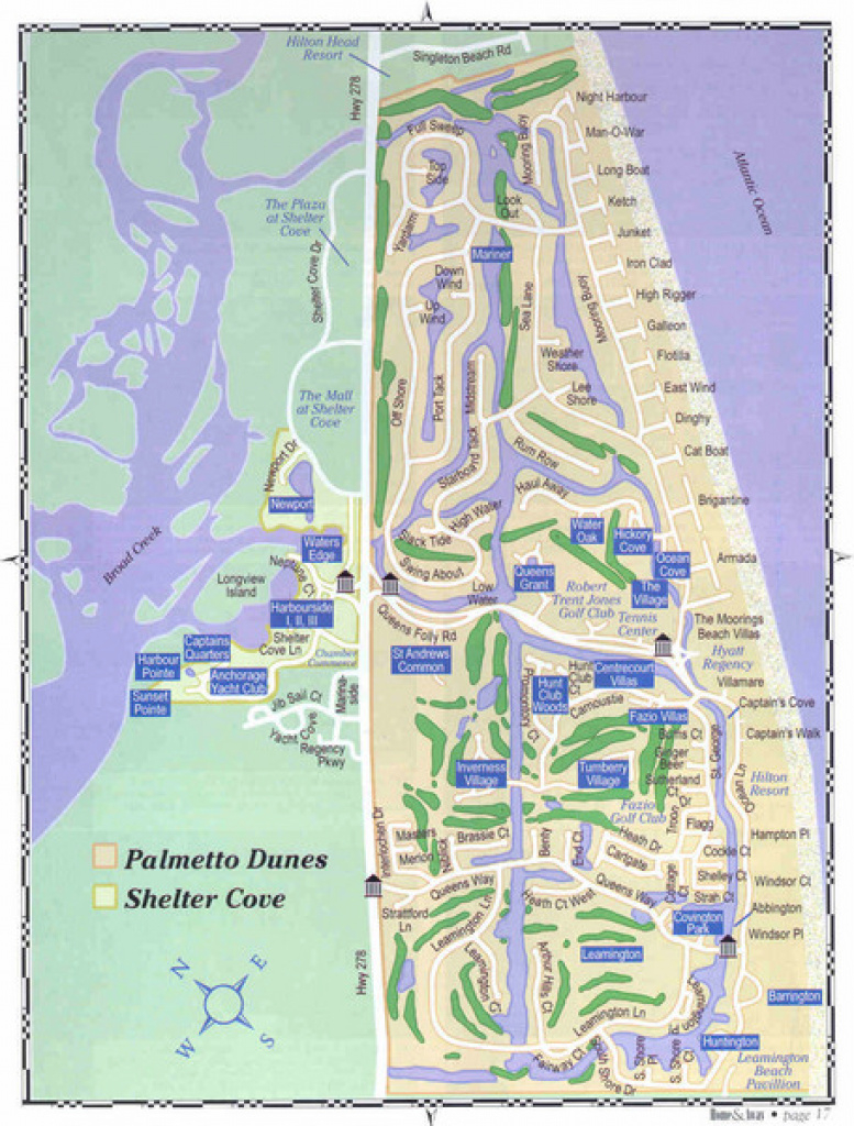 Hunting Island State Park Map • Mappery with Hunting Island State Park Campsite Map