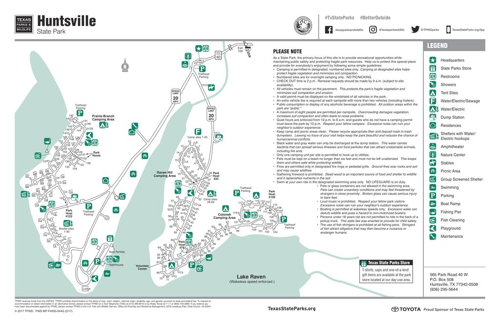 Huntsville State Park Map | Helderateliers with Huntsville State Park Trail Map