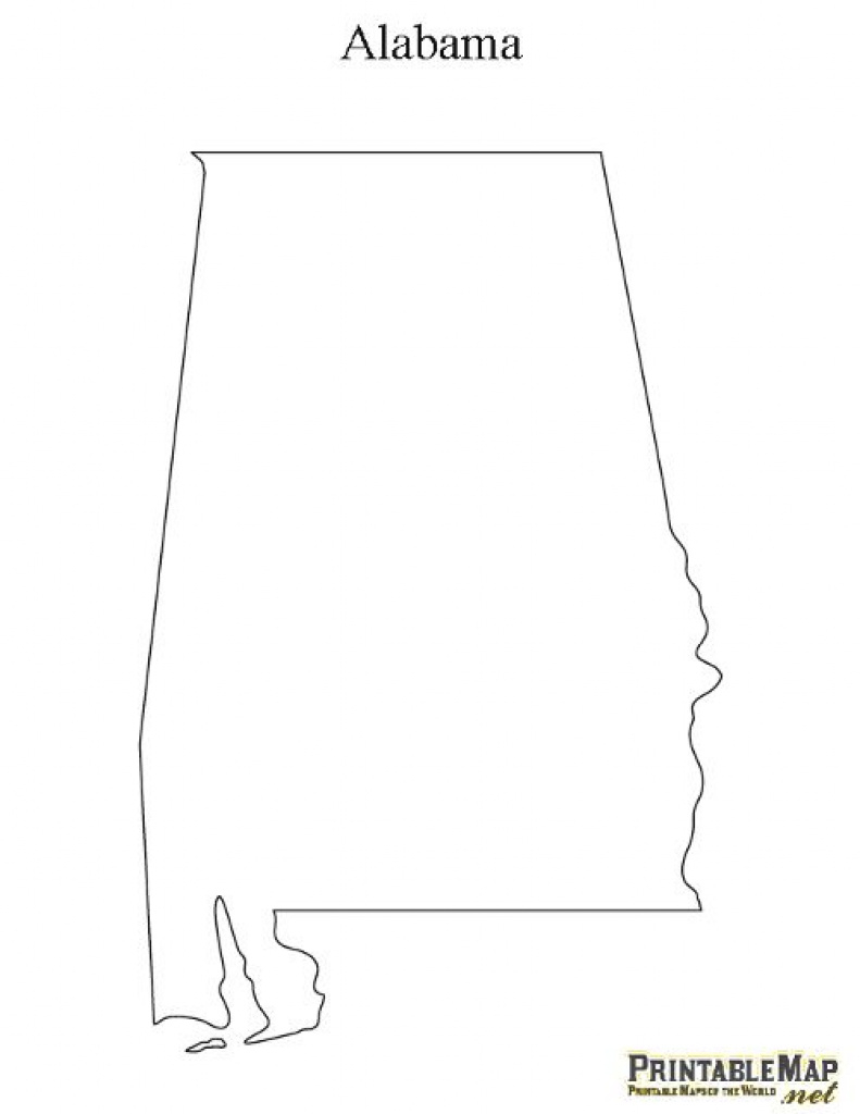 I Chose This Image Because You State That The Protagonist Lives In inside Alabama State Map Printable