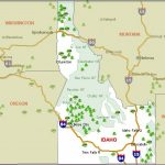 Idaho Camping Resources And Information With Idaho State Parks Map