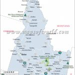 Idaho National Parks Map For Idaho State Parks Map