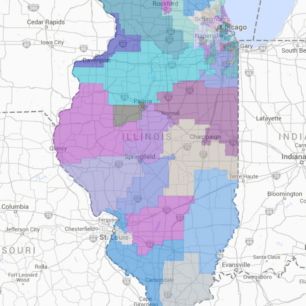 Illinois Senate | Illinois Policy intended for Illinois State Senate District Map