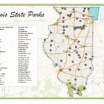 Illinois State Parks Map | Etsy With Regard To Illinois State Parks Map