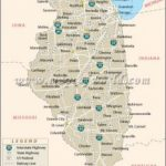 Illinois State Parks Map | Rtlbreakfastclub For Illinois State Parks Map