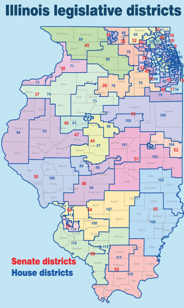 Illinois State Representative Sheri Jesiel: House Republicans with regard to Illinois State Senate District Map