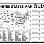 Image Result For Blank Map Tests | Geo Bee | Pinterest | Geography With Regard To Us State Map Test
