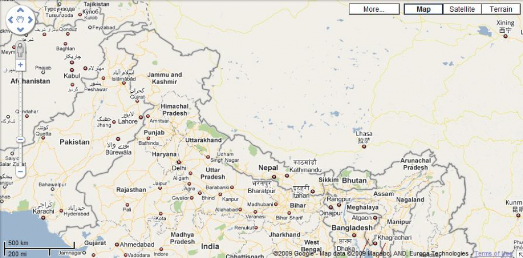 India Disputed In Google Maps! | @abhishekdelta - On Life, Universe in Google Map Of India With States