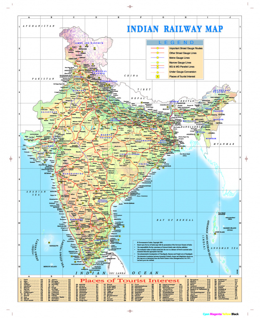 ______ » India Map in Map Of India With States And Cities Pdf