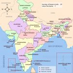 India Map | India Political Map | India Map With States | Map Of India For Capitals Of Indian States Map