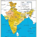 India Map Of India's States And Union Territories   Nations Online Within Map Of India With States And Cities Pdf