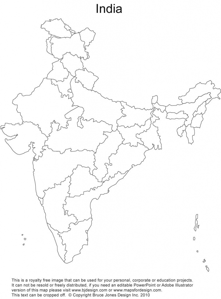 India Map Outline - Google Search | Map | Pinterest | India Map, Map regarding India Blank Map With States Pdf