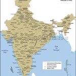 India Map With Cities For Map Of India With States And Cities Pdf