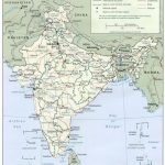 India Maps – Perry-Castañeda Map Collection – Ut Library Online throughout Map Of India With States And Cities Pdf