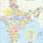 India Maps | Printable Maps Of India For Download Throughout Map Of India With States And Cities Pdf