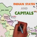 Indian States And Capitals   Explained On Map Of India (Easy To Throughout Capitals Of Indian States Map