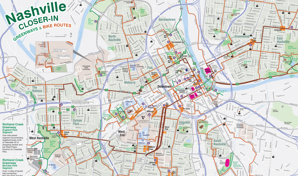 Individual Maps | Greenways For Nashville intended for State Farm Sports Village Field Map