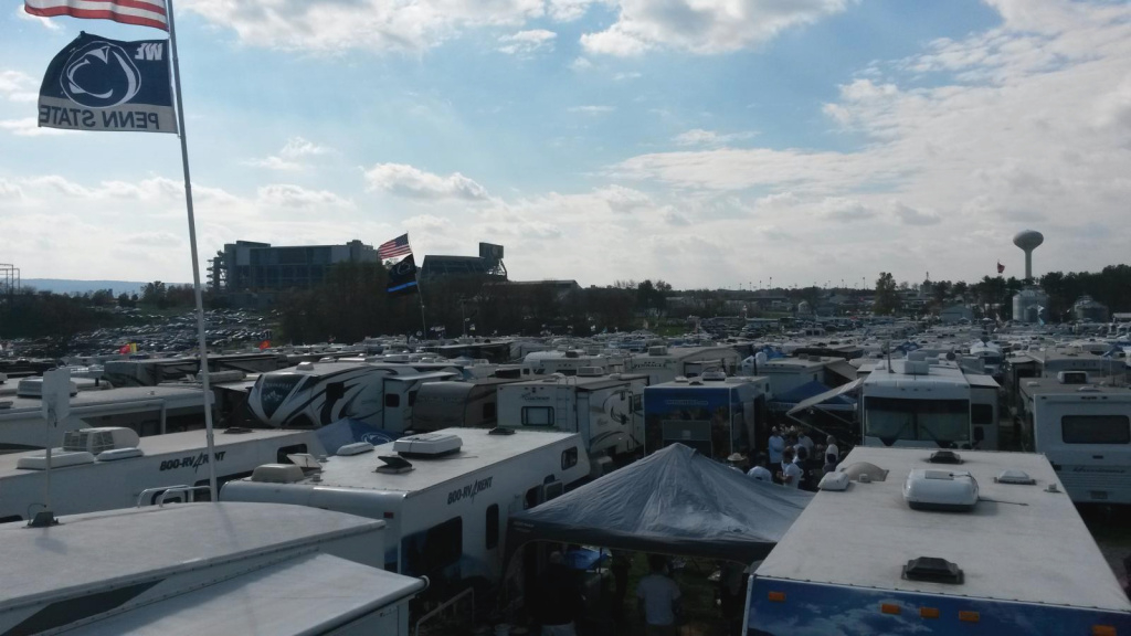 Information On 2018 Penn State Football Tailgating for Penn State Rv Parking Map