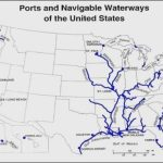 Inland Waterways Of The United States   Alchetron, The Free Social Within Navigable Waters Of The United States Map