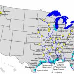 Inland Waterways Of The United States   Wikipedia With Navigable Waters Of The United States Map