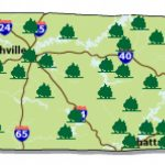Interactive Image Map Of Tennessee | Outdoor Places To Go Intended For Tennessee State Parks Map