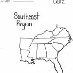 Interactive Map Of Southeastern United States Creatop Me And Regarding Blank Map Of Southeast United States