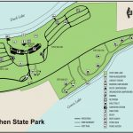 Interlochen State Parkmaps & Area Guide   Shoreline Visitors Guide Intended For Duck Lake State Park Trail Map