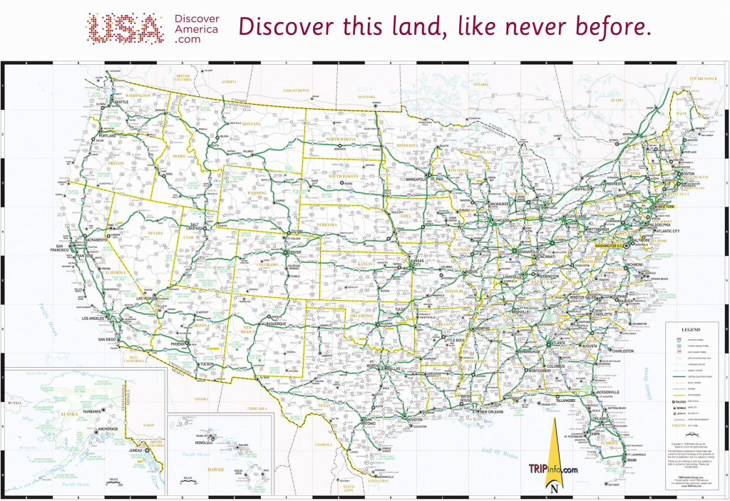 Interstate Road Map Of Usa Map City United States Major Highways Map for Road Map Of The United States With Major Cities
