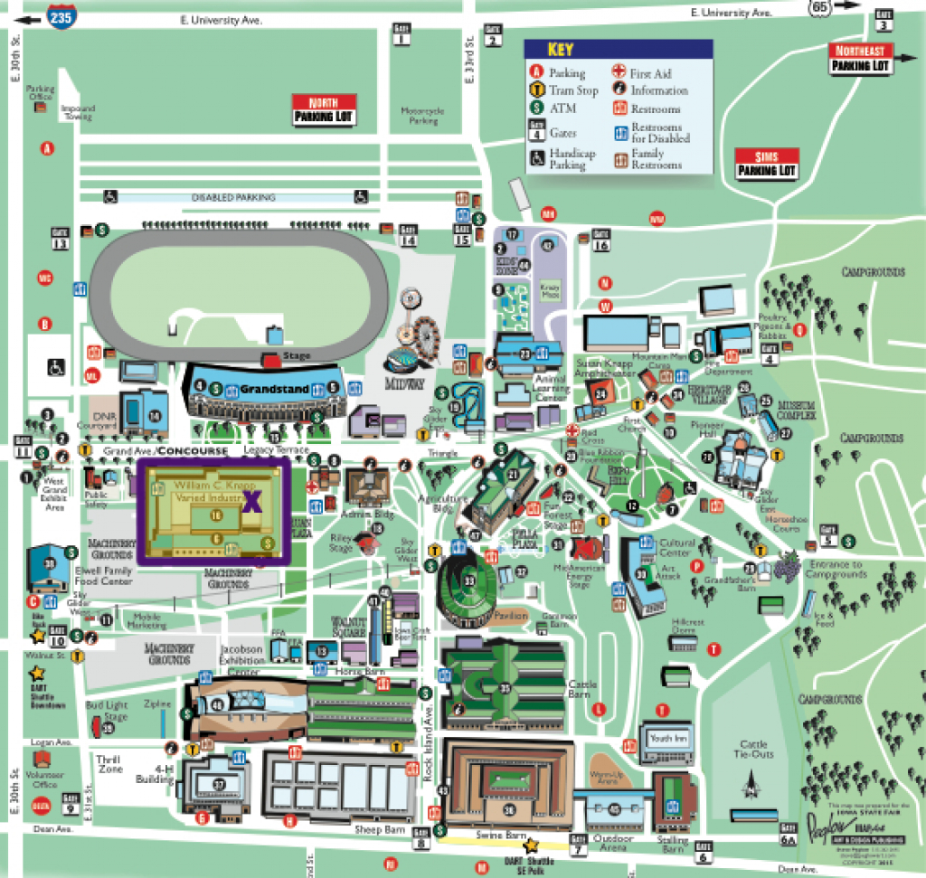 Iowa State University Map | The National Map: Printable Maps with Iowa State Fair Parking Map
