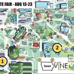 Iowa Wine @ The Iowa State Fair • Summerset Winery With Regard To Iowa State Fair Parking Map