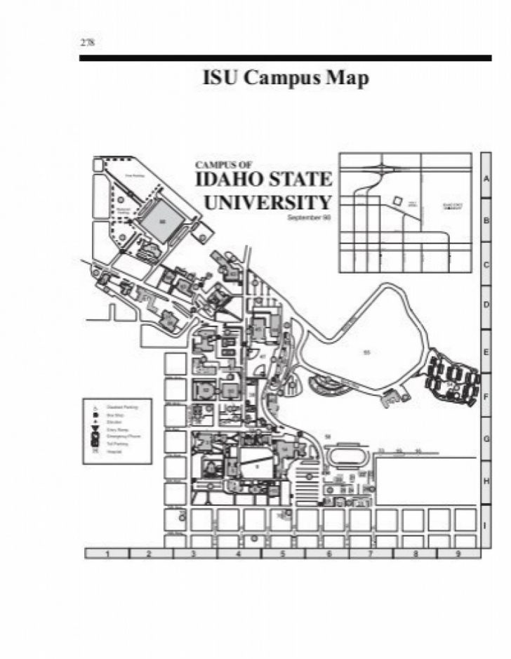 Idaho State University Campus Map