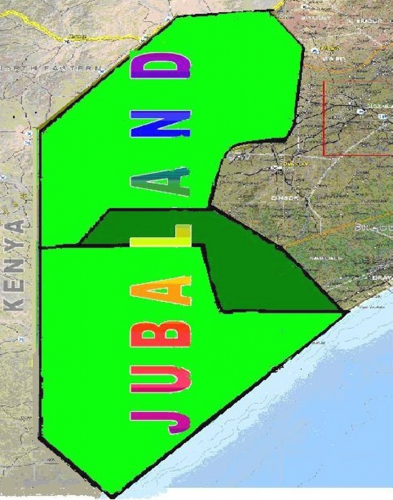 It's A New Beginning In Jubaland As President Gets Down To Business | in Jubaland State Map