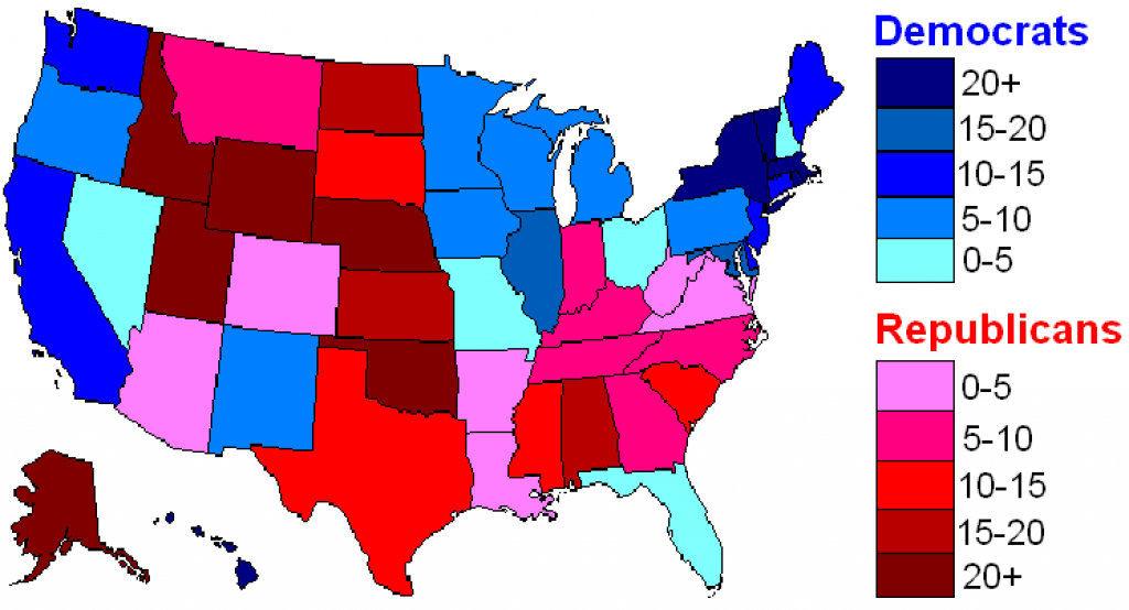 It's Official: God Hates The Republican Red States–Scientific Maps with Red State Blue State Map 2012 Presidential Election