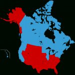 Jesusland Map   Wikipedia For United States Canada Map