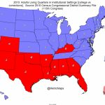 John Brown's Notes And Essays: Map: 16 States Have More People In For Red States Map 2015