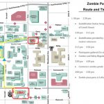 Join The Wsu Zombie Parade, Oct. 29   Cfpca   Wayne State University Regarding Wayne State University Campus Map