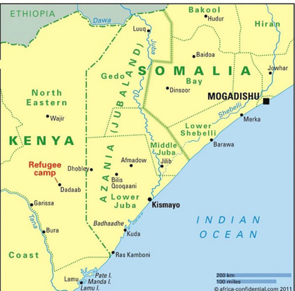 Jubaland In Jeopardy: The Uneasy Path To State-Building In Somalia regarding Jubaland State Map