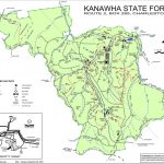 Kanawha State Forest   Maplets Pertaining To Kanawha State Forest Hunting Map
