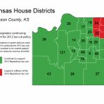 Kansas Legislators Prove That Insanity Is Continuing To Do The Same Throughout Kansas State Representative District Map