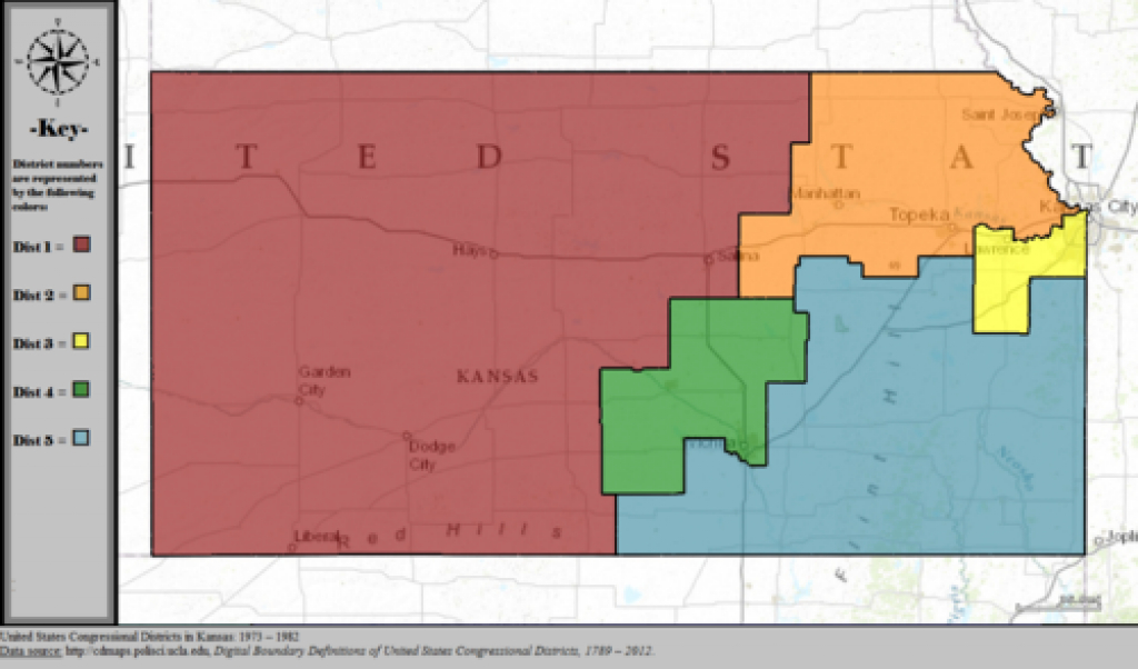 Kansas's Congressional Districts - Wikipedia inside Kansas State Representative District Map