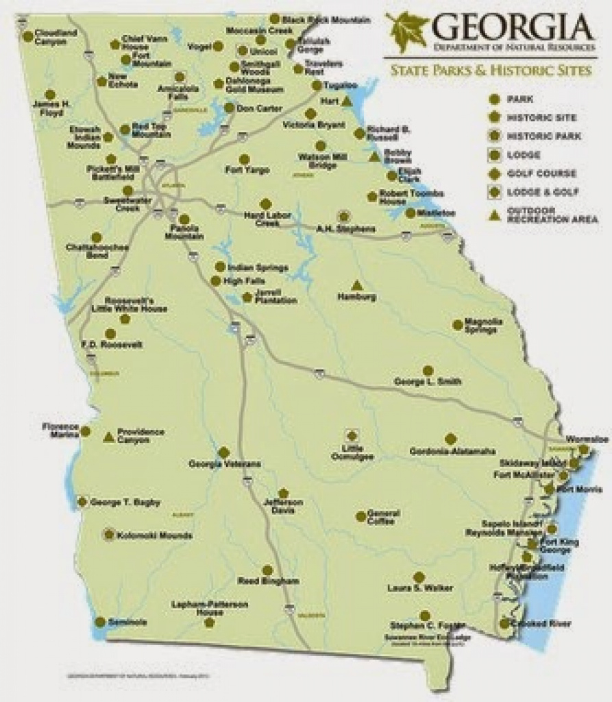 Kathys Cluttered Mind: Top 10 Things To Do At Georgia State Parks pertaining to Georgia State Parks Map
