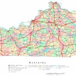 Kentucky Printable Map For Kentucky State Map With Cities And Counties