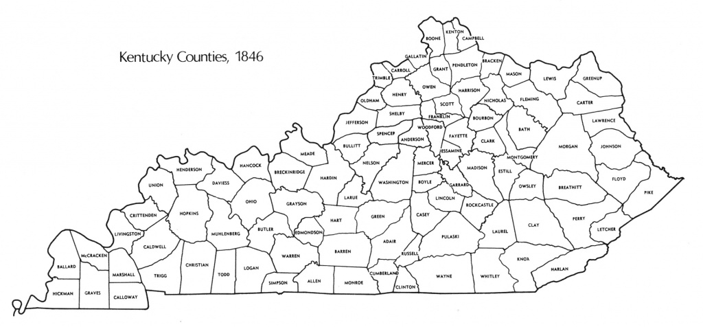 Kentucky State Map With Counties – Bnhspine in Kentucky State Map With Counties